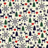 Cute winter background for winter holidays. — Vecteur