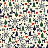 Cute winter background for winter holidays. — ストックベクタ