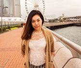 Model Aziatisch meisje — Stockfoto