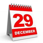 カレンダーです。12 月 29 日. — ストック写真