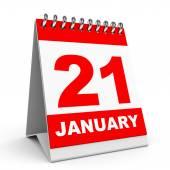 Calendar. 21 January. — Photo