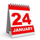 Calendar. 24 January. — Stockfoto