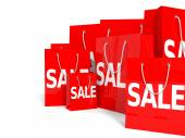 Shopping bags. Sale. — Photo