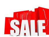 Shopping bags. Sale. — Stock Photo