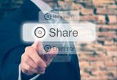 Sharing Concept — Stock Photo