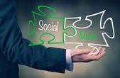 Social Media concept — Photo