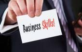 Business Skills Concept — Stock Photo