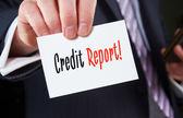 Credit Report Concept — Stock Photo