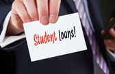 Student Loans concept — Stock Photo