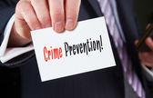 Crime Prevention Concept — Stock Photo