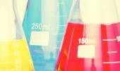 Background of laboratory equipment — Stock Photo