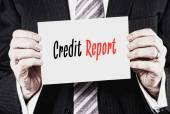 Credit Report Concept — Stock Photo