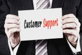 Customer Support Concept — Stock Photo