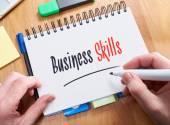 Business Skills Concept — Stockfoto