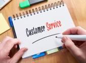 Concetto di servizio di cliente — Foto Stock