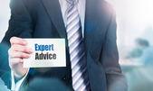 Porady ekspertów, koncepcja wsparcia — Zdjęcie stockowe