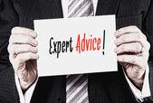 Expert Advice, Advice Concept. — Stock Photo