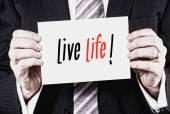 Life Life Concept — Stock Photo