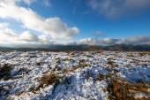 A snow covered plateau, Derwent Fells — Stok fotoğraf