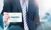 Fresh Start Concept — Stock Photo