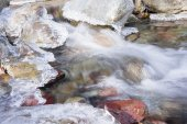 Frozen streams in  Lake District — Stock Photo