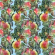 Apple and pear, pattern — Stock Photo #52721529