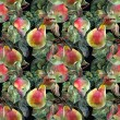 Apple and pear, pattern — Stock Photo #52721537