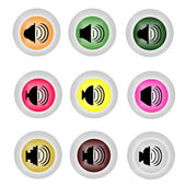 Speaker Volume icon — Stock Vector