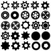 Cogwheels. Vector collection — Vecteur