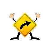 Traffic sign vector — Stock Vector