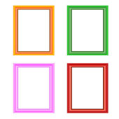 Picture frame vector — Stock Vector