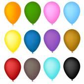 Vectorillustratie voor ballon arch — Stockvector