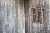 Vintage Window, northeast of Thailand — Stock Photo