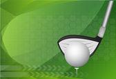 Golf background ,Vector — Stock Vector
