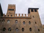 Rathaus in Bologna — Stockfoto