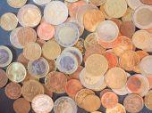 Euro coins money — Stock Photo