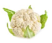 Cauliflower isolated on white background  — Stock Photo
