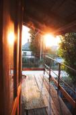Sol na varanda — Fotografia Stock