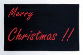 Blackboard advertising merry Christmas — ストック写真