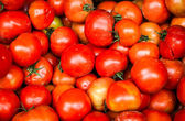 Dirty unwashed tomatoes — Stock Photo