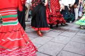 Days fair in Fuengirola Spain — Stock Photo
