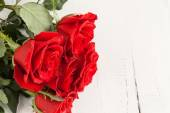 Red roses for Valentine's Day — Foto de Stock
