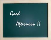 Blackboard for advertising — Stock Photo