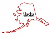 Alaska — Stok Vektör