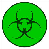 Bio Hazard Symbol — Stock Vector
