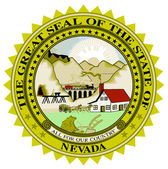 Nevada State Seal — Stock Vector
