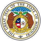 Missouri State Seal — Stock Vector