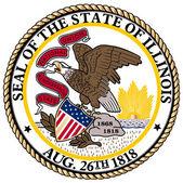 Illinois State Seal — Stock Vector