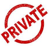 Privati — Vettoriale Stock