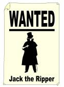 Wanted Jack the Ripper — Stock Vector